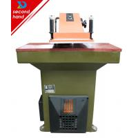 Reconditioned Atom VS922 leather swing arm cutting clicking press machine